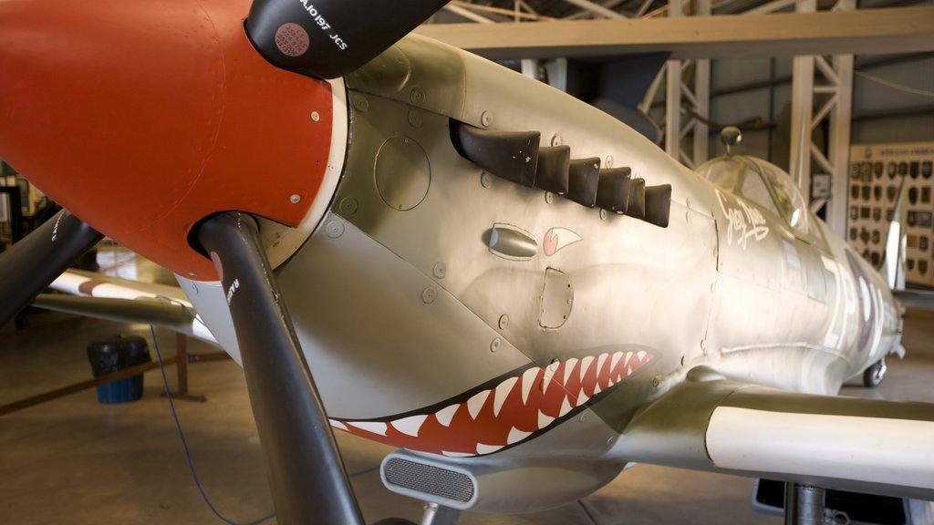 Centro del Patrimonio de la Aviación Australiana ofreciendo aeronave
