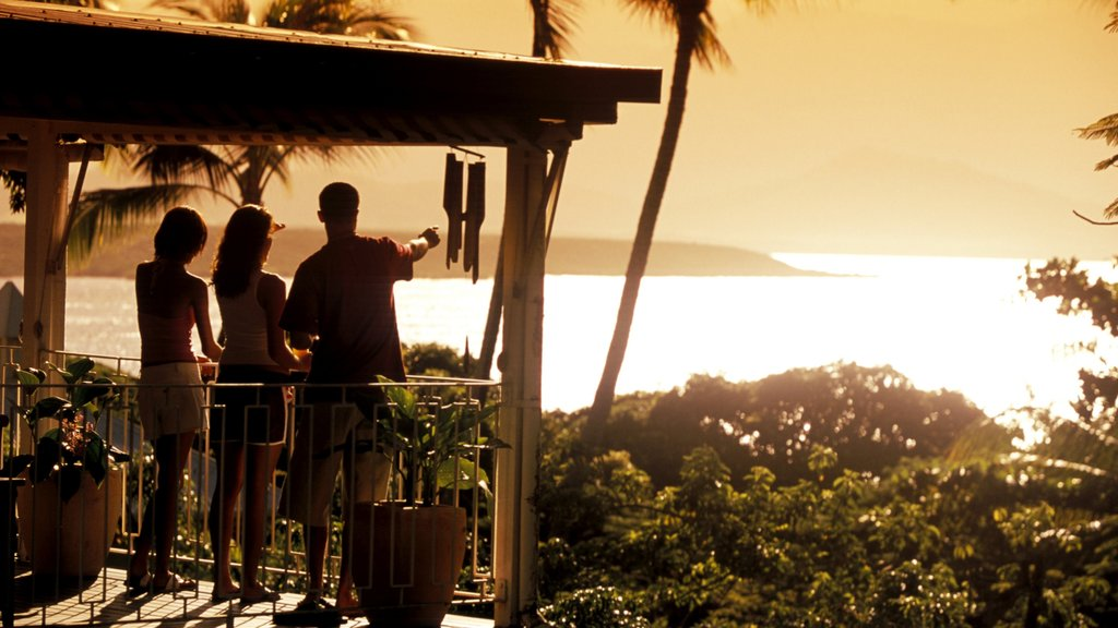 Port Douglas featuring a sunset, general coastal views and views