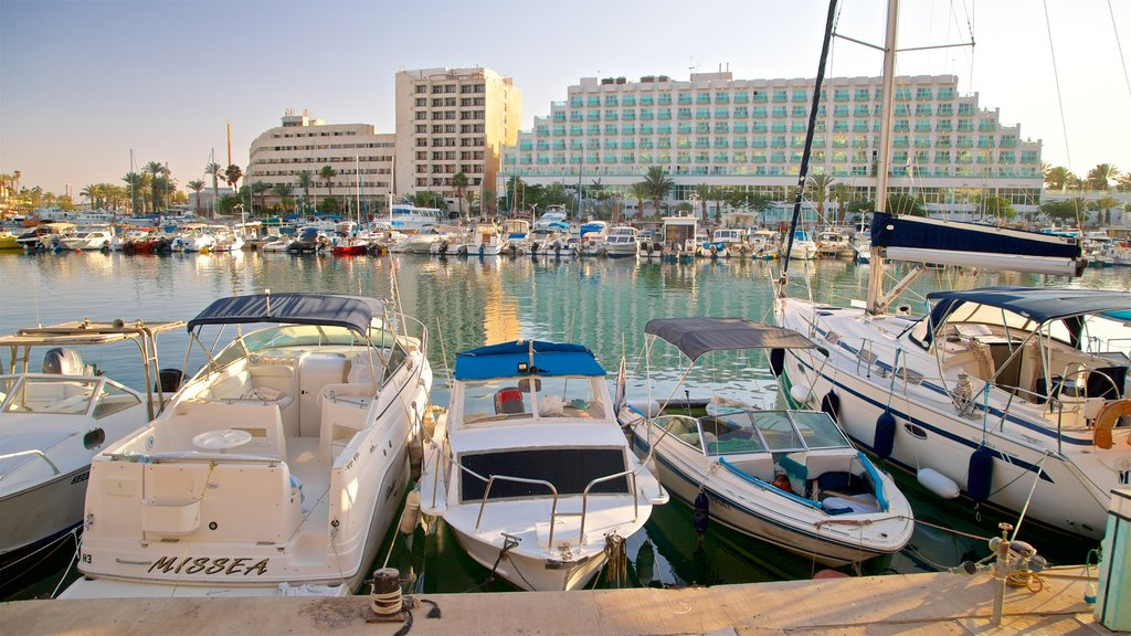 Eilat Marina featuring a bay or harbor