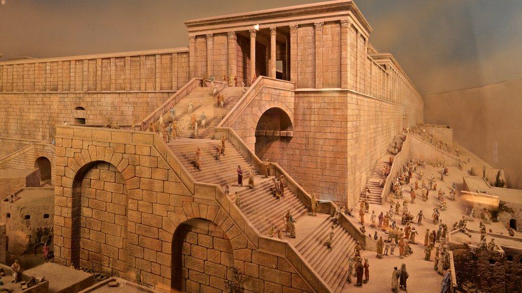Museo de la torre de David de la historia de Jerusalén