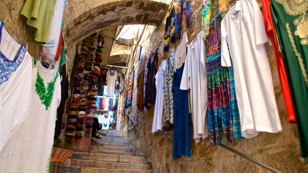 Mahane Yehuda Market showing markets