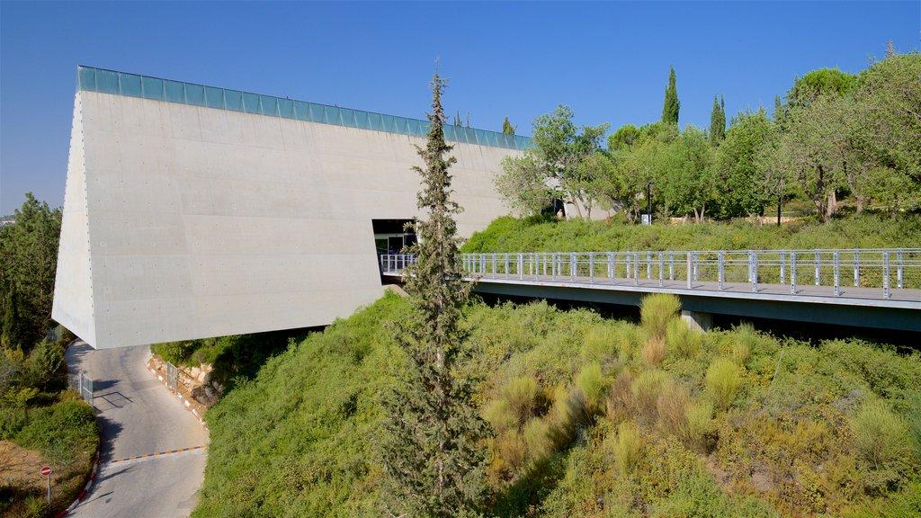 Yad Vashem ofreciendo arquitectura moderna