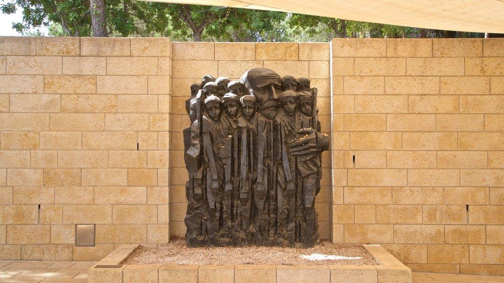 Yad Vashem ofreciendo arte al aire libre