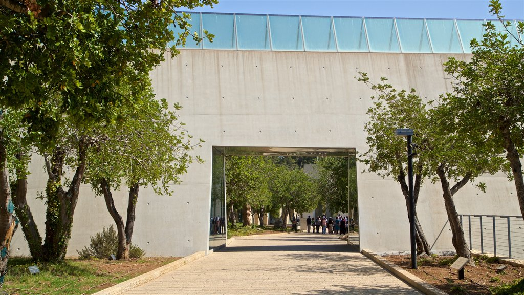 Yad Vashem which includes a park