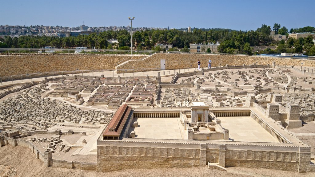 Israel Museum featuring heritage elements, landscape views and heritage architecture