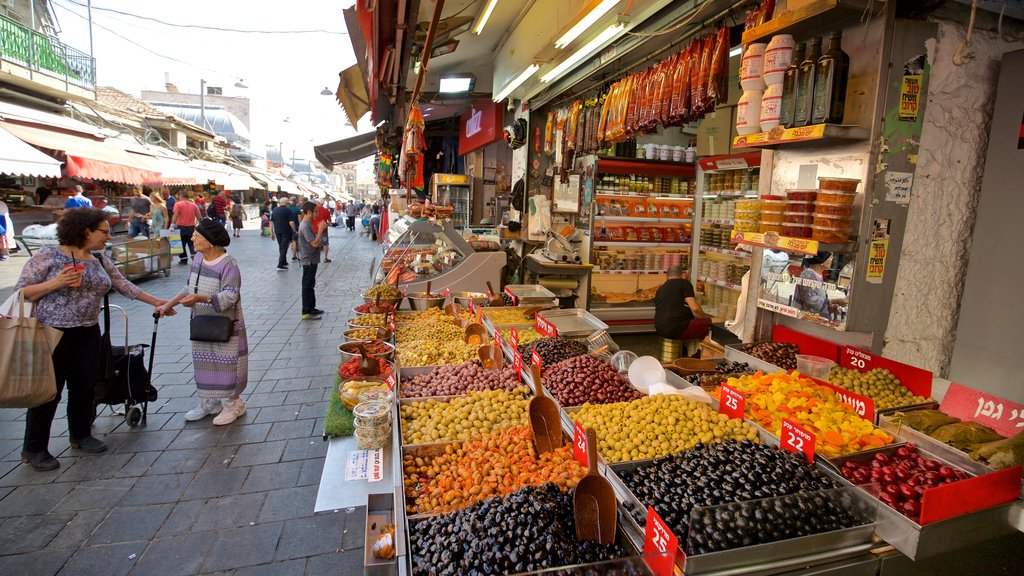 Old City which includes markets, food and street scenes