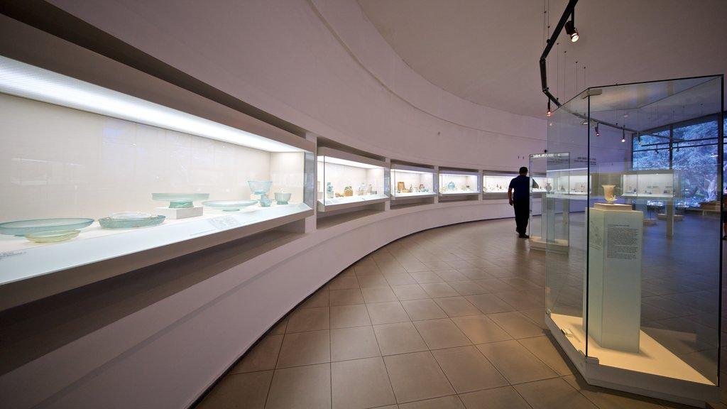 Museo Eretz Israel que incluye vistas interiores