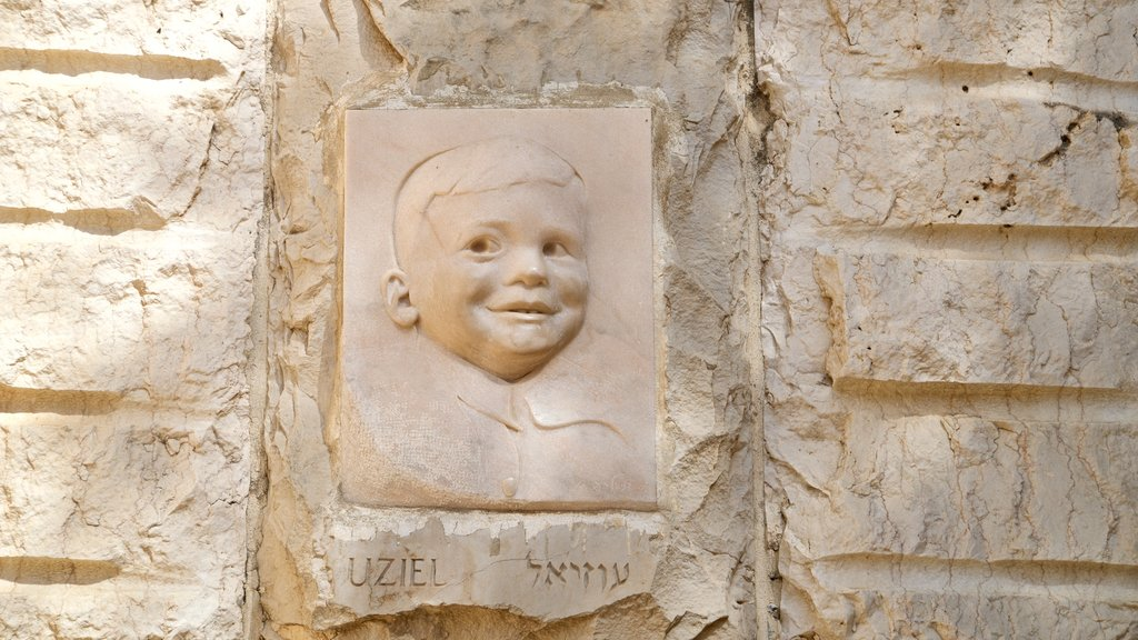 Yad Vashem featuring heritage elements