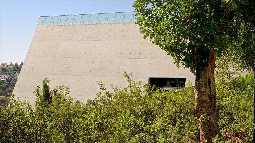 Yad Vashem featuring modern architecture