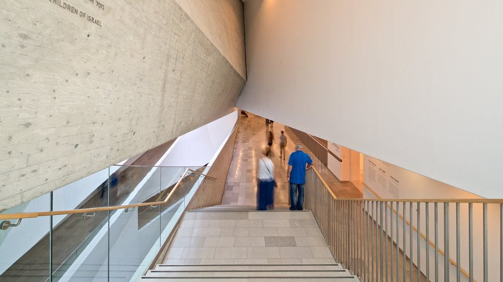 Tel Aviv Museum of Art which includes interior views as well as a couple