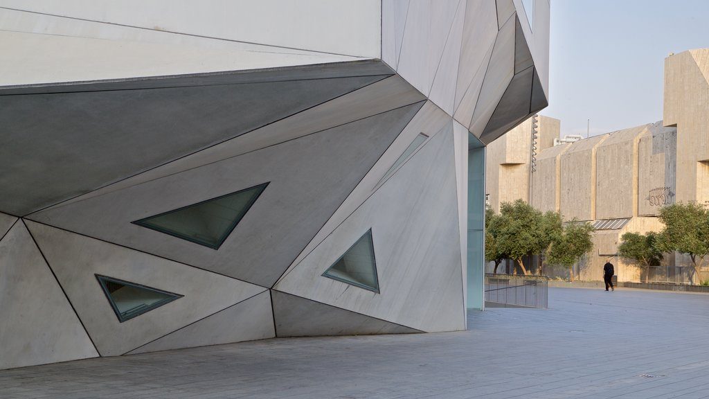 Tel Aviv Museum of Art which includes modern architecture