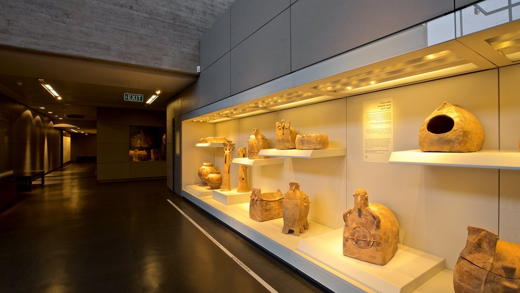 Israel Museum which includes interior views