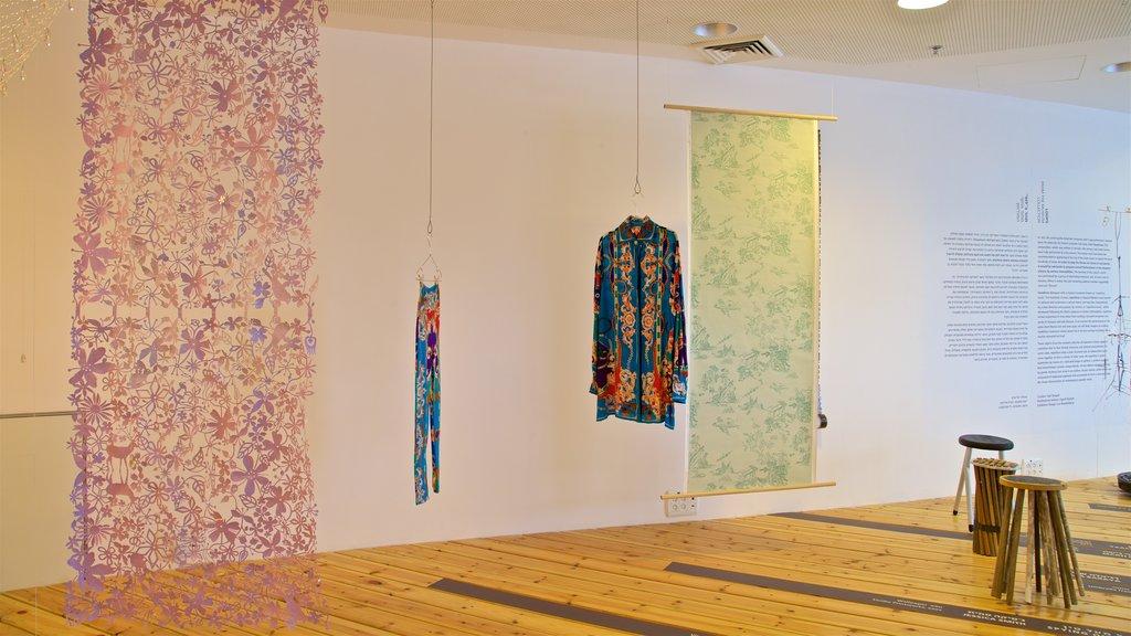 Design Museum Holon featuring art and interior views