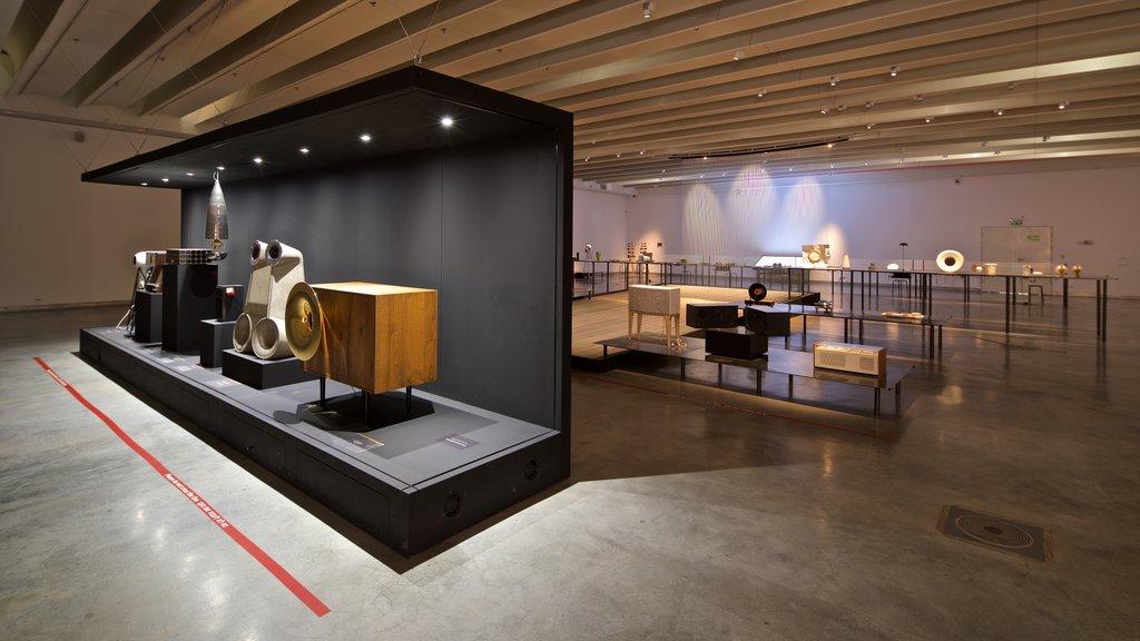 Design Museum Holon which includes interior views