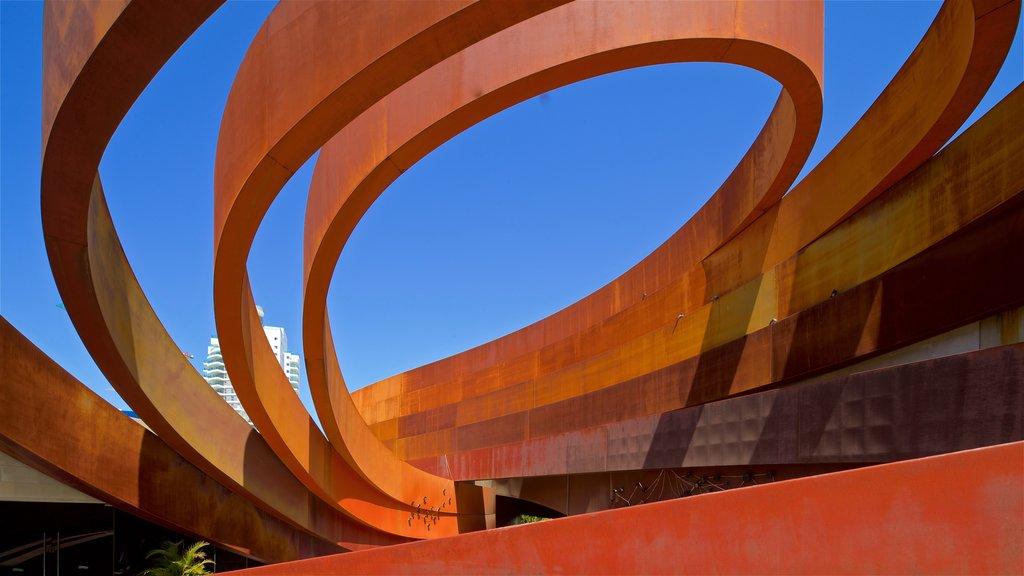 Design Museum Holon showing modern architecture