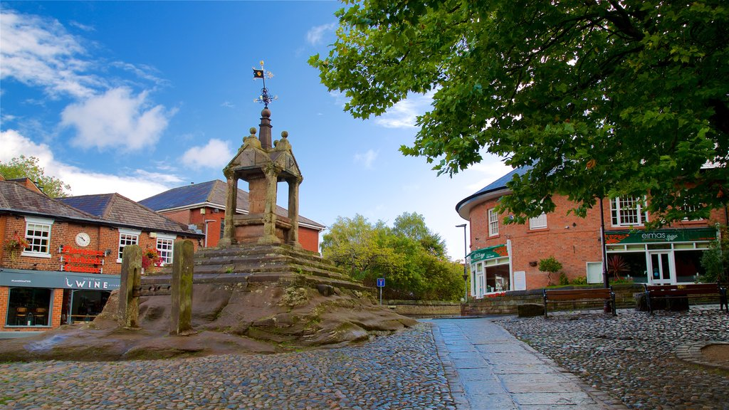 Lymm featuring heritage elements