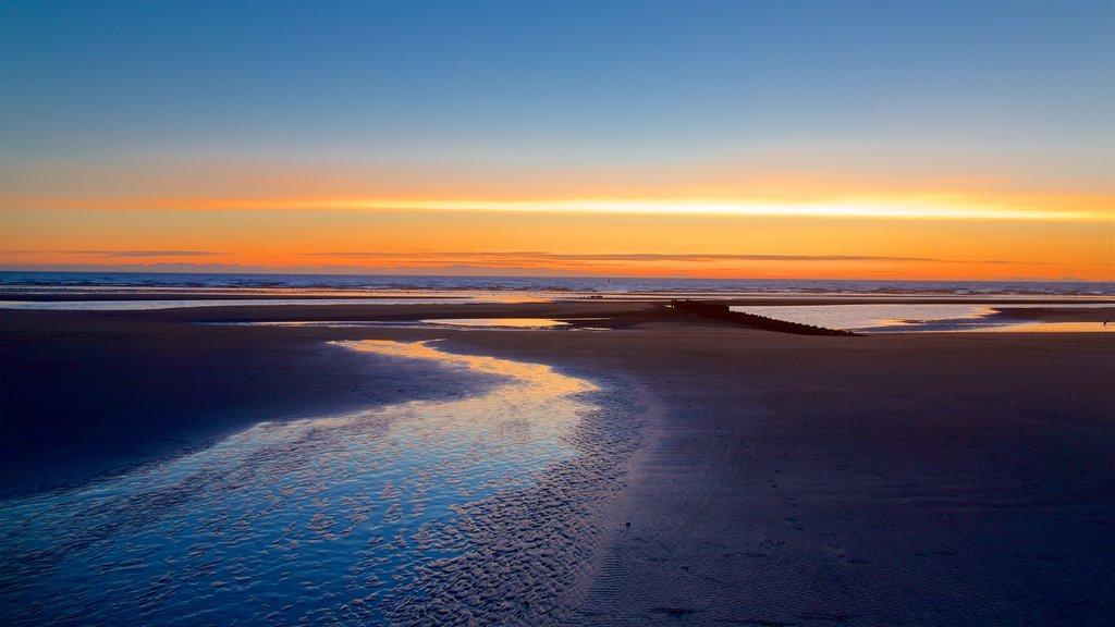 Central Beach which includes general coastal views, landscape views and a sandy beach