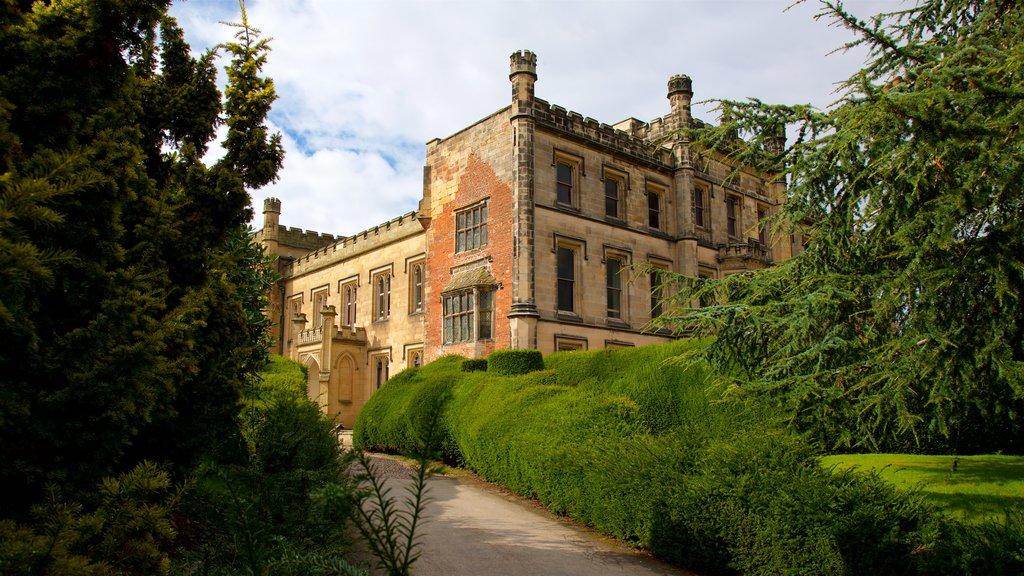 Elvaston Castle featuring a castle and heritage architecture