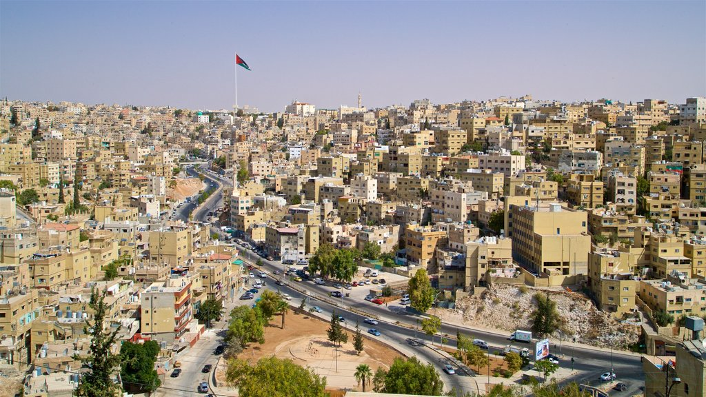 Amman featuring landscape views and a city