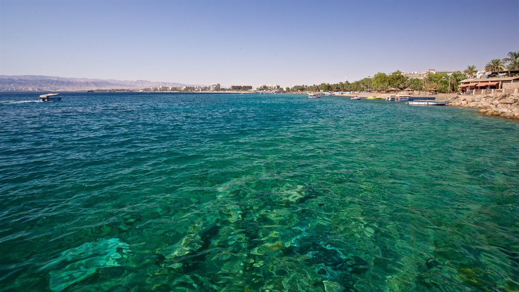 Aqaba featuring general coastal views