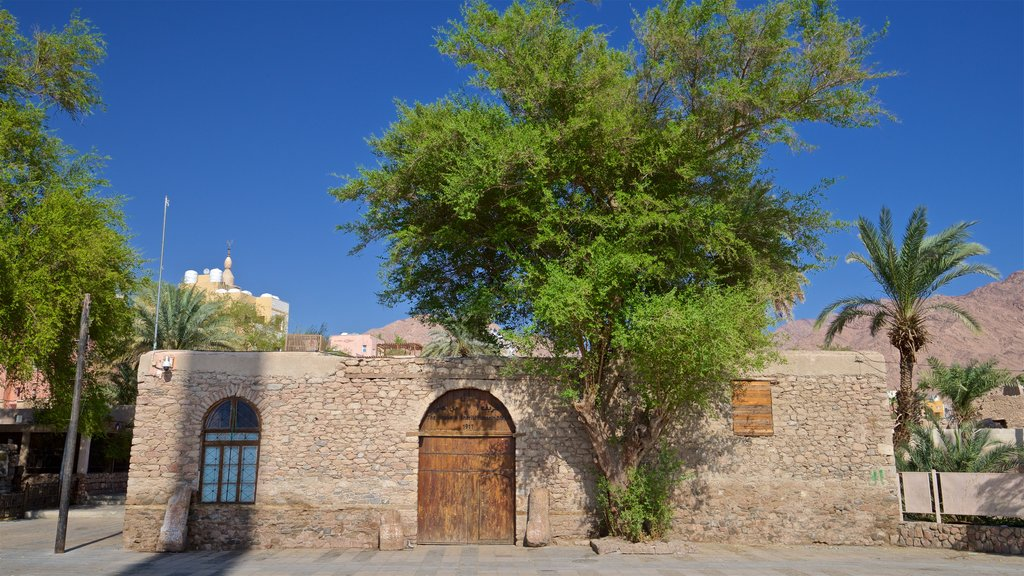 Aqaba Fort featuring a house and heritage elements