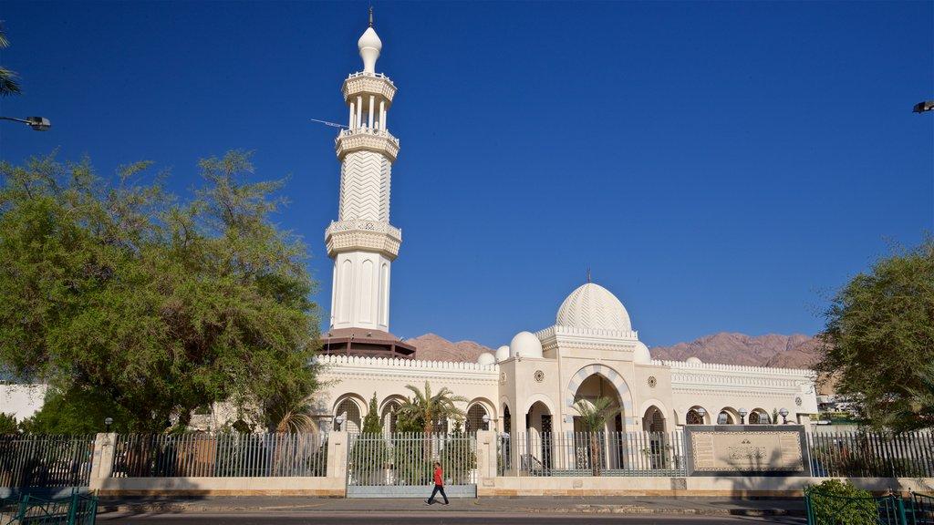 Aqaba showing heritage elements