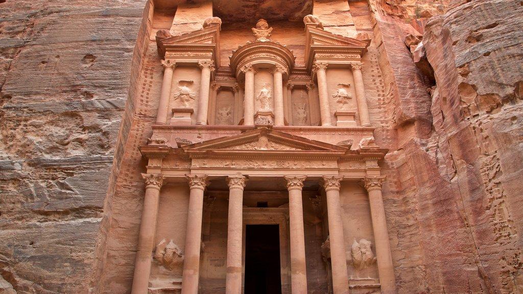 Wadi Musa featuring heritage architecture