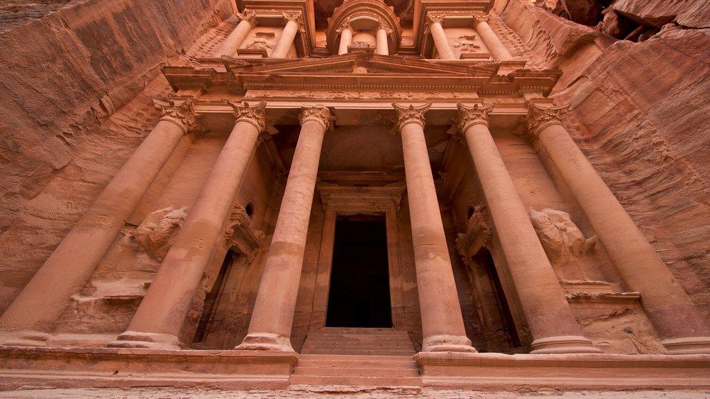 Wadi Musa which includes heritage architecture