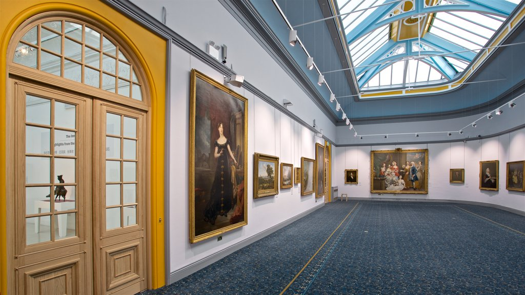 Wolverhampton featuring art and interior views