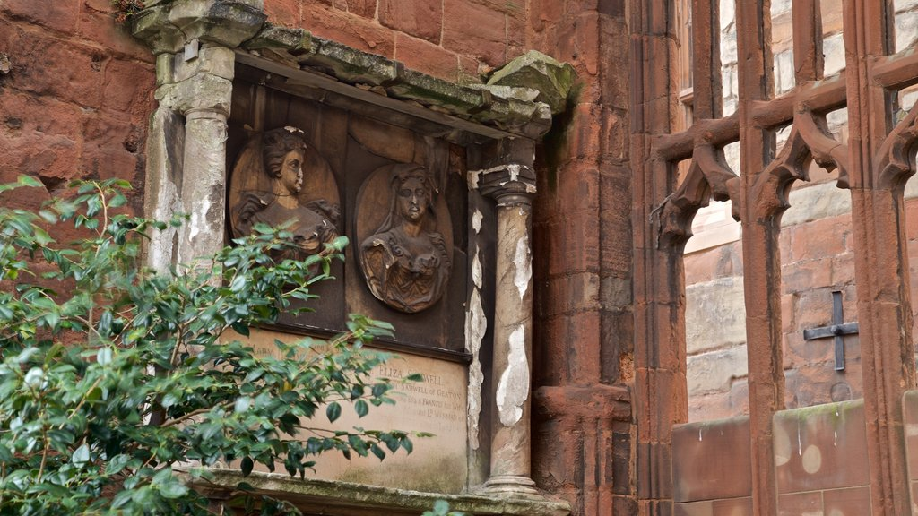 Coventry showing religious aspects and heritage elements