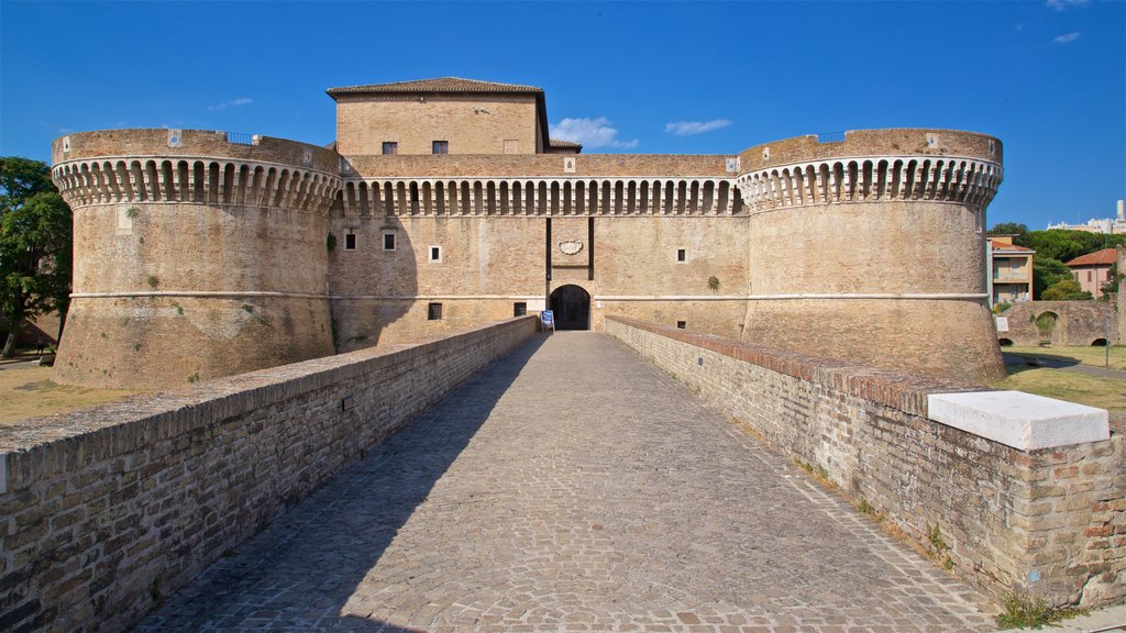 Rocca Roveresca di Senigallia showing heritage architecture and a castle