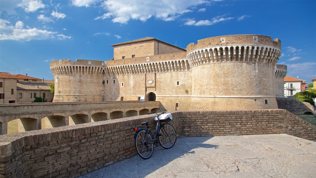 Rocca Roveresca di Senigallia which includes chateau or palace, heritage architecture and a bridge