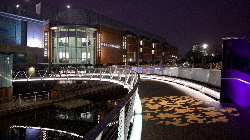 Oracle mostrando escenas nocturnas y un puente