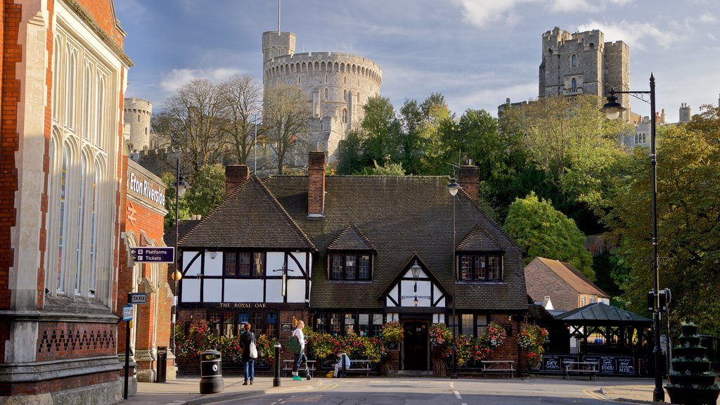 Windsor mostrando elementos del patrimonio