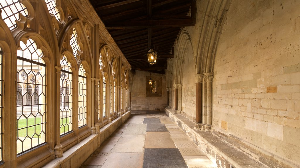 St. Georges Chapel featuring heritage elements and interior views