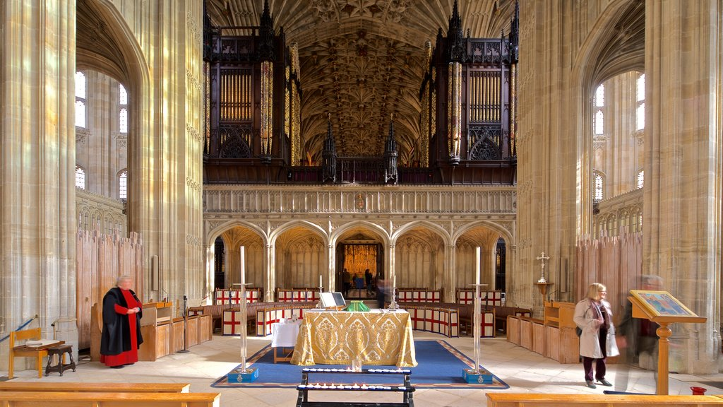 St. Georges Chapel which includes interior views, heritage elements and a church or cathedral
