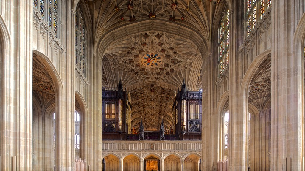 St. Georges Chapel which includes heritage elements, a church or cathedral and interior views