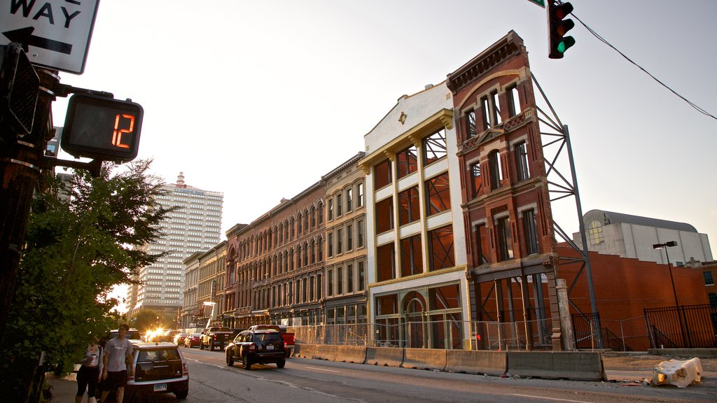 Louisville which includes a city