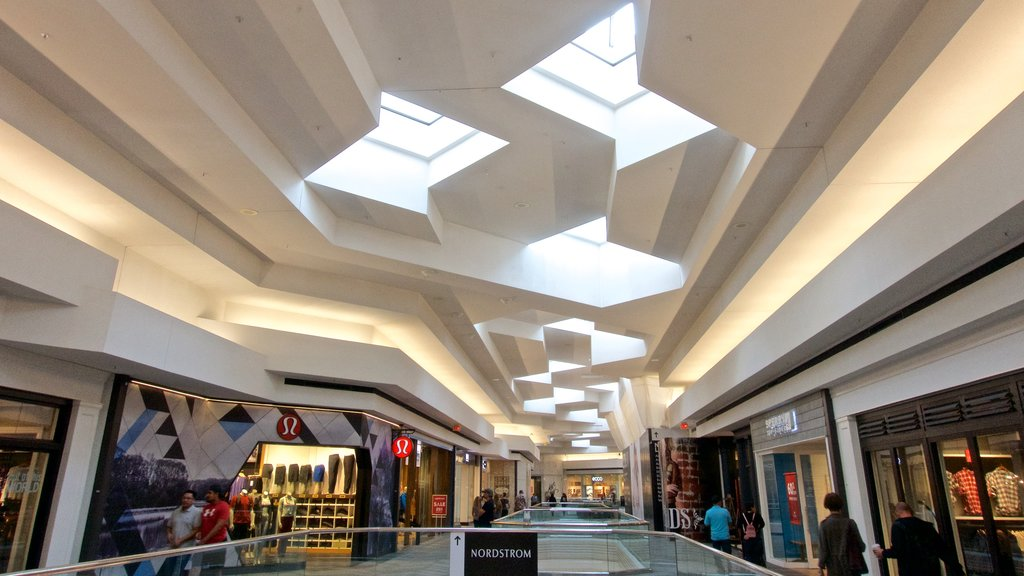 Woodfield Mall featuring interior views and shopping