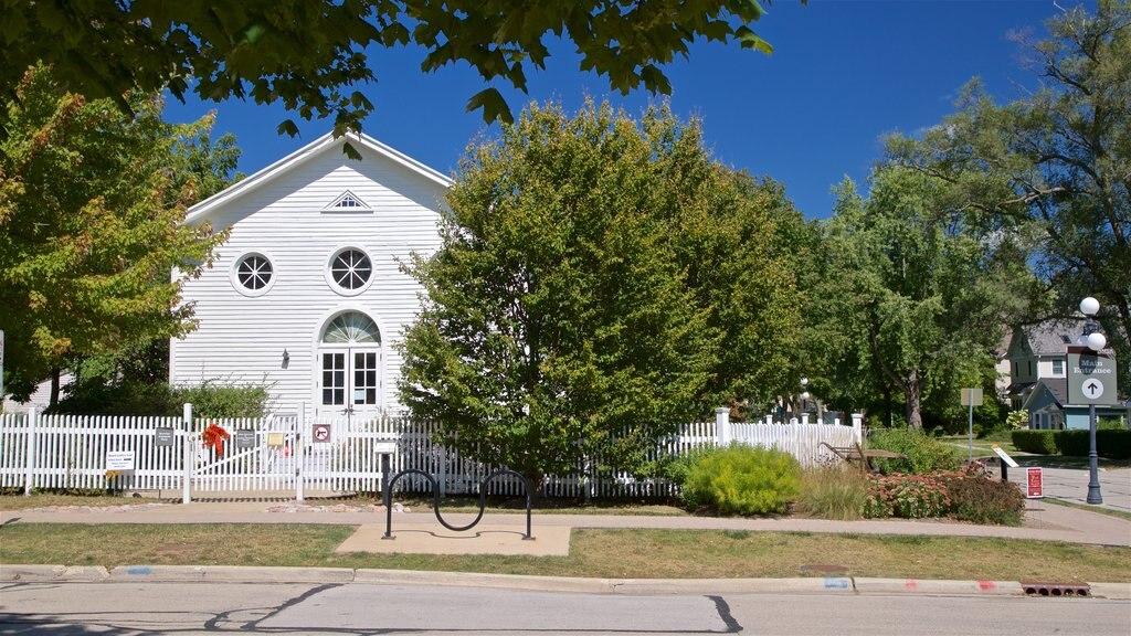 Naper Settlement Museum showing a house