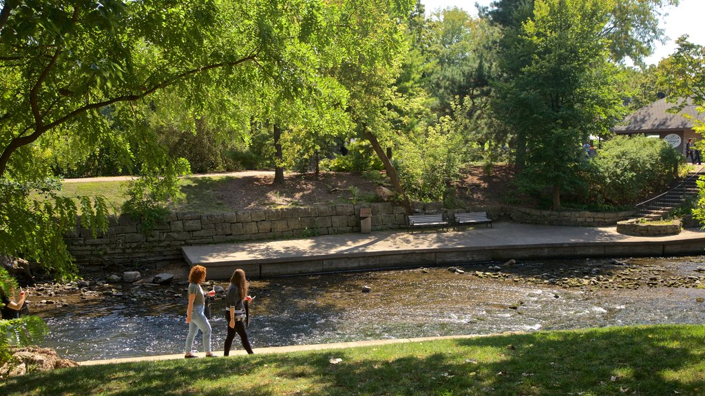 Naperville which includes hiking or walking, a garden and a river or creek
