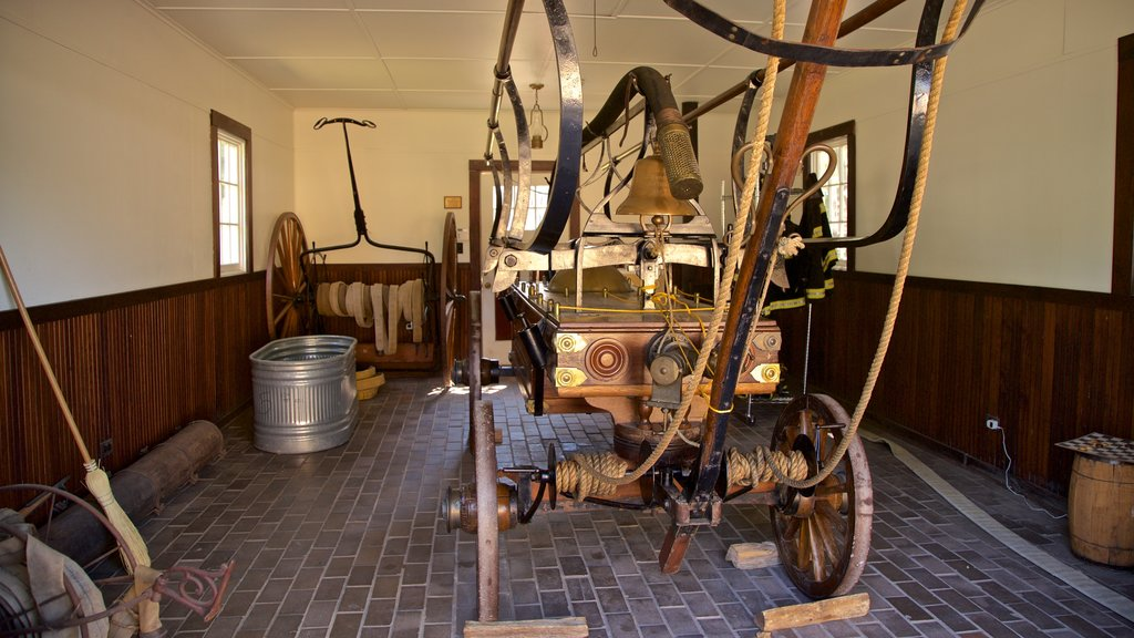 Naper Settlement Museum which includes interior views and heritage elements