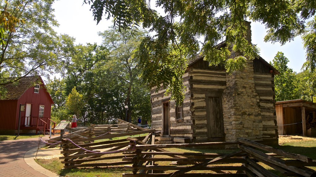 Naper Settlement Museum featuring heritage elements and a house