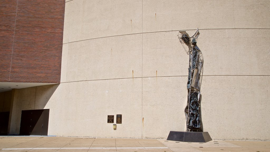 Peoria Civic Center which includes outdoor art