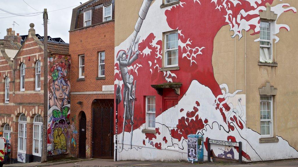 Bristol showing outdoor art