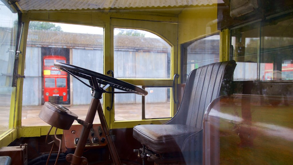 The Trolleybus Museum at Sandtoft which includes interior views