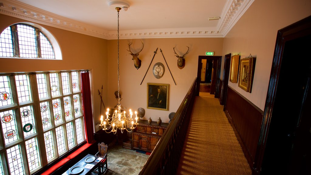 Bolling Hall Museum which includes interior views, a house and heritage elements