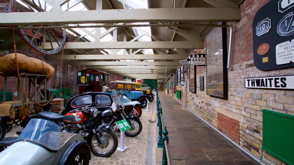 Bradford Industrial Museum featuring interior views and heritage elements
