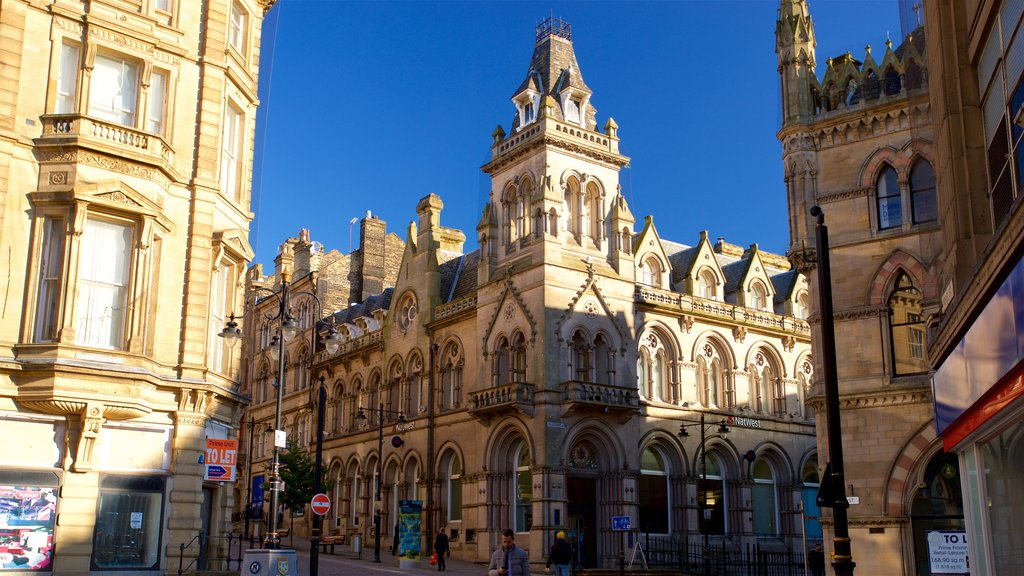 Bradford showing heritage architecture