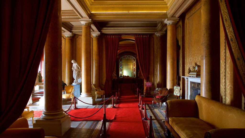 Brodsworth Hall showing interior views and heritage elements